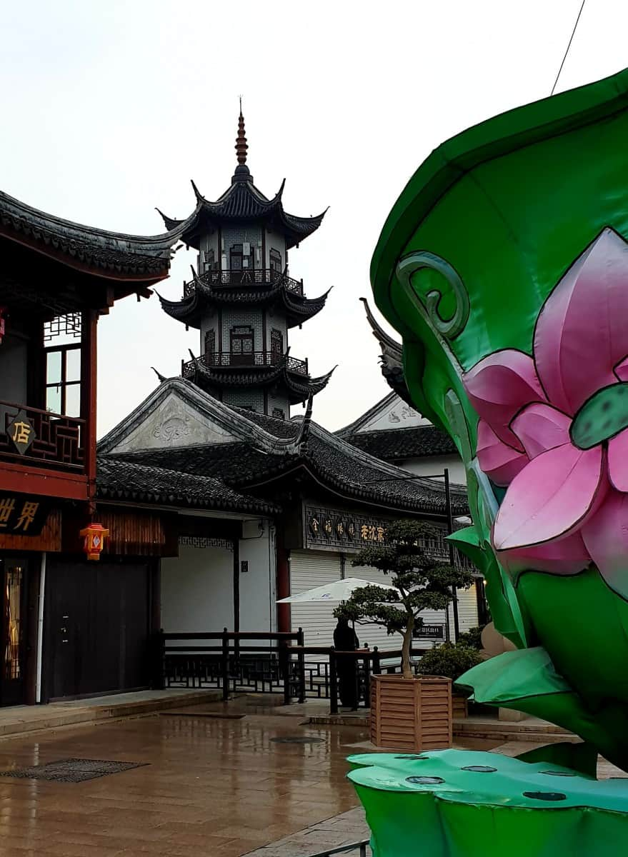 Uken i Shanghai